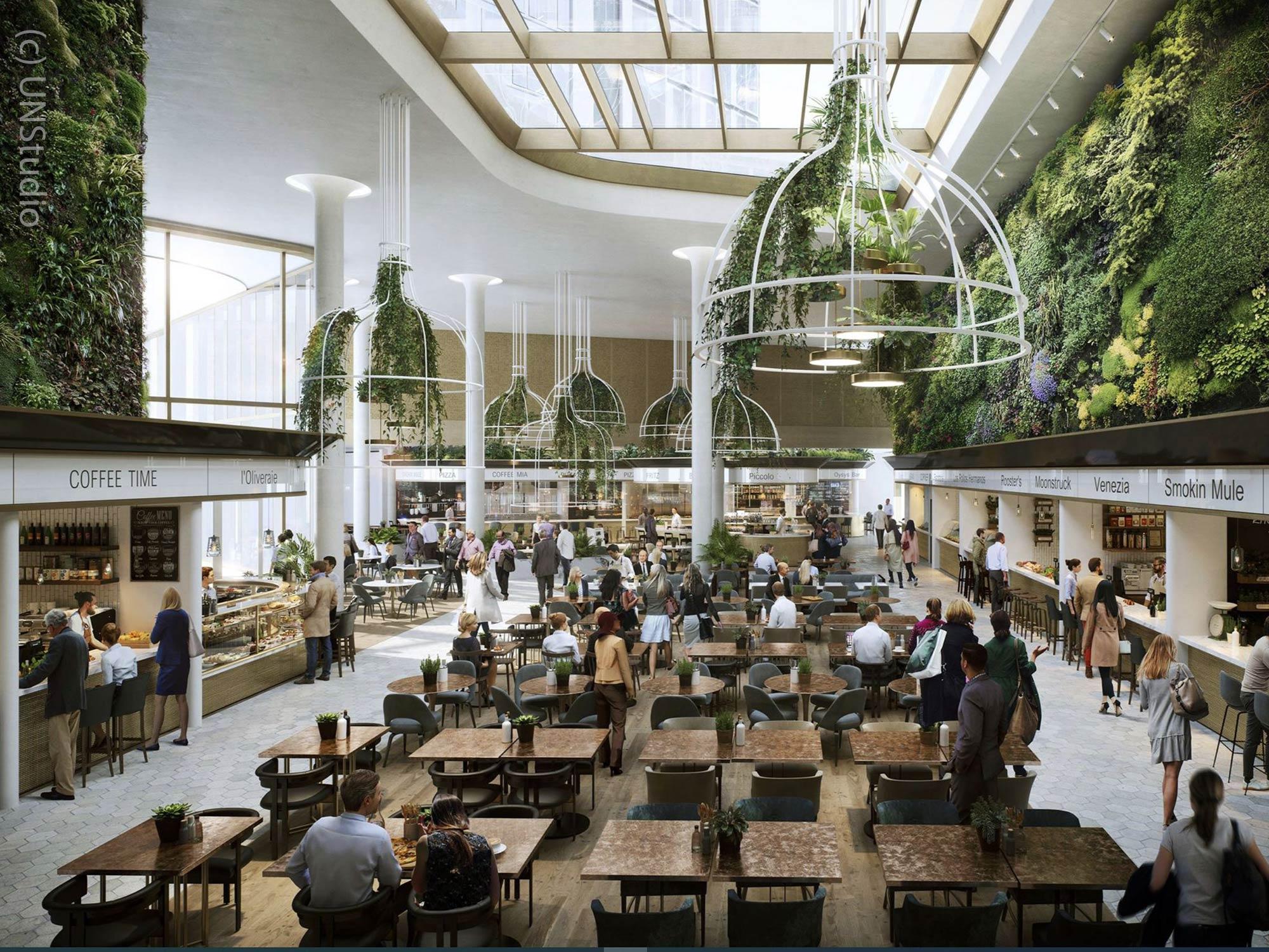 4 Frankfurt - Four Frankfurt Food Court - Computer Animation