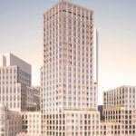 Hochhaus Drei Schwestern Frankfurt by Becken Max Dudler
