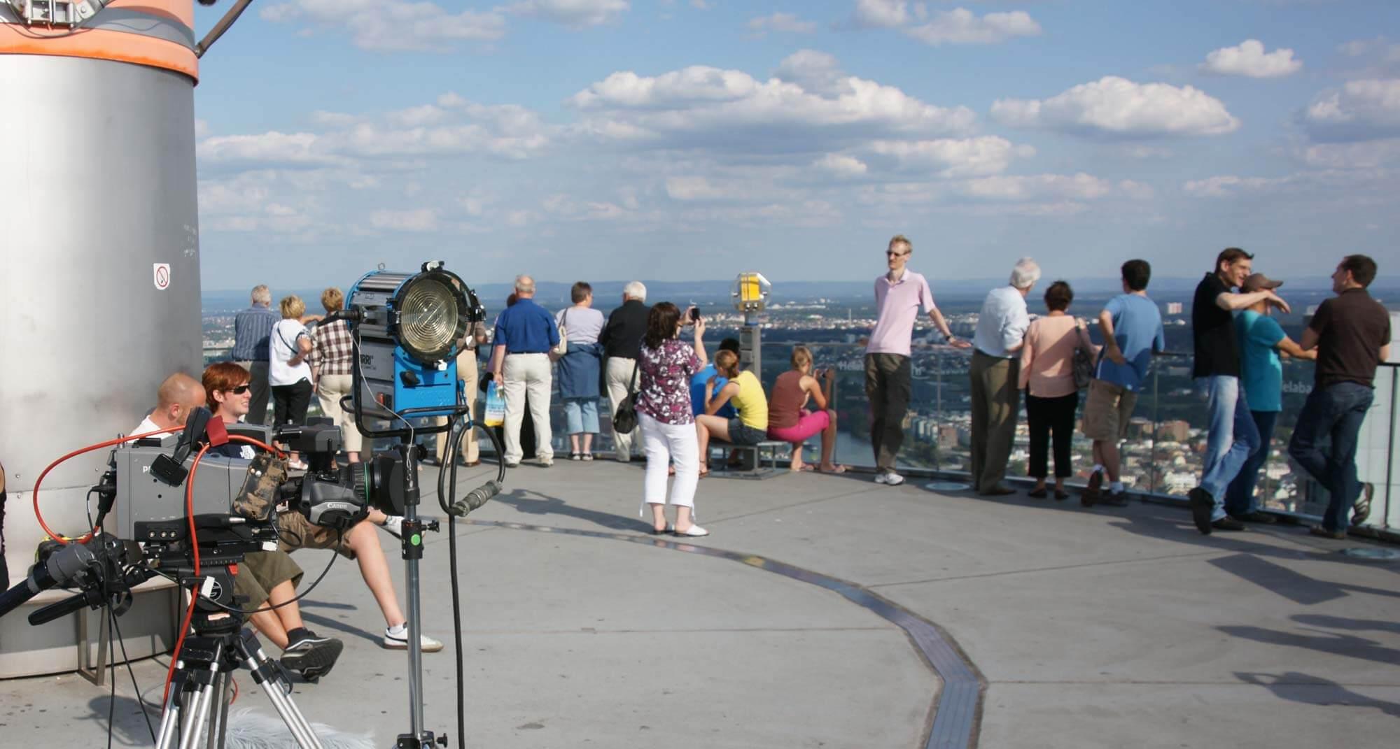 MAIN TOWER Aussichtsplattform für Besucher