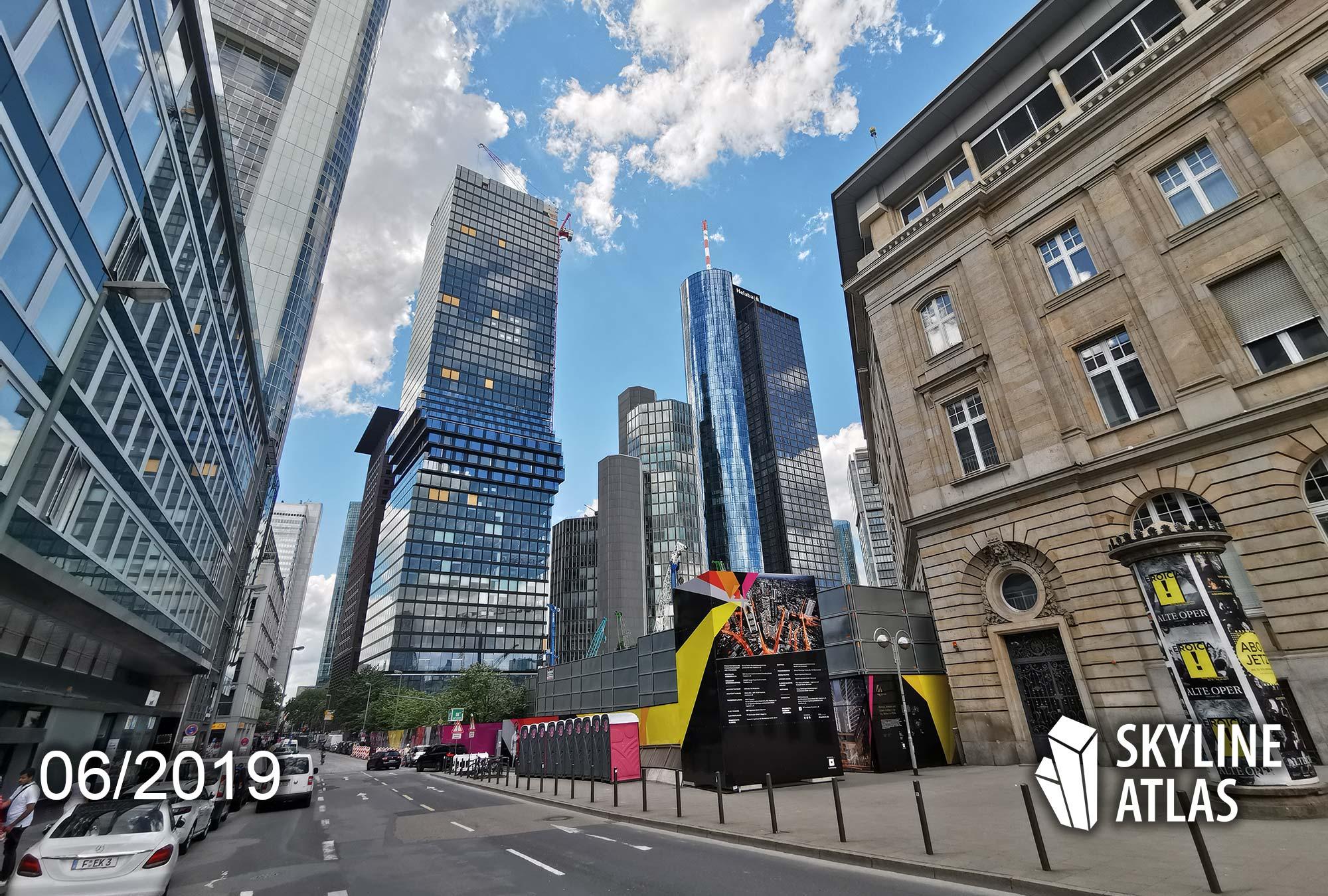 OmniTurm in Frankfurt am Main - Bild Hochhaus - Wohnungen im Wolkenkratzer - Mischnutzung