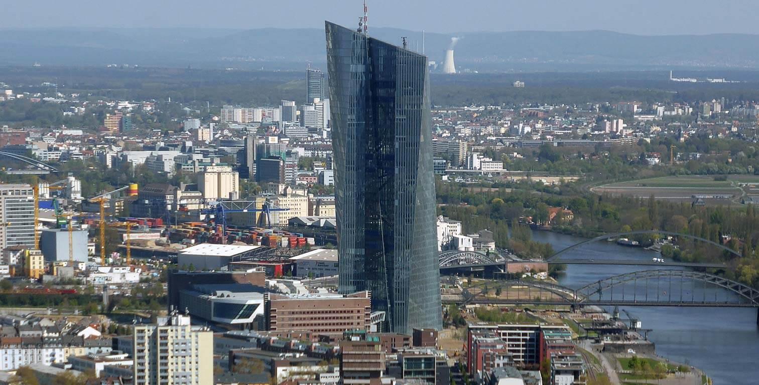 Skytower - Sitz der Europäischen Zentralbank (EZB)
