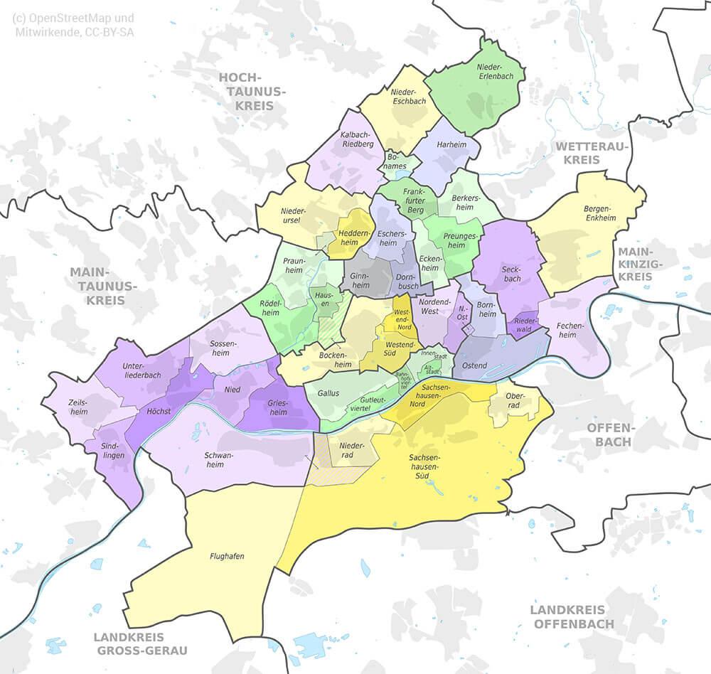 Stadtentwicklung Frankfurt am Main