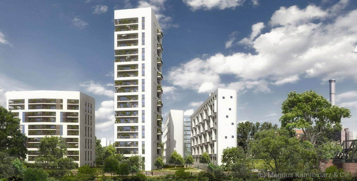 THE Fizz Frankfurt Wohnquartier