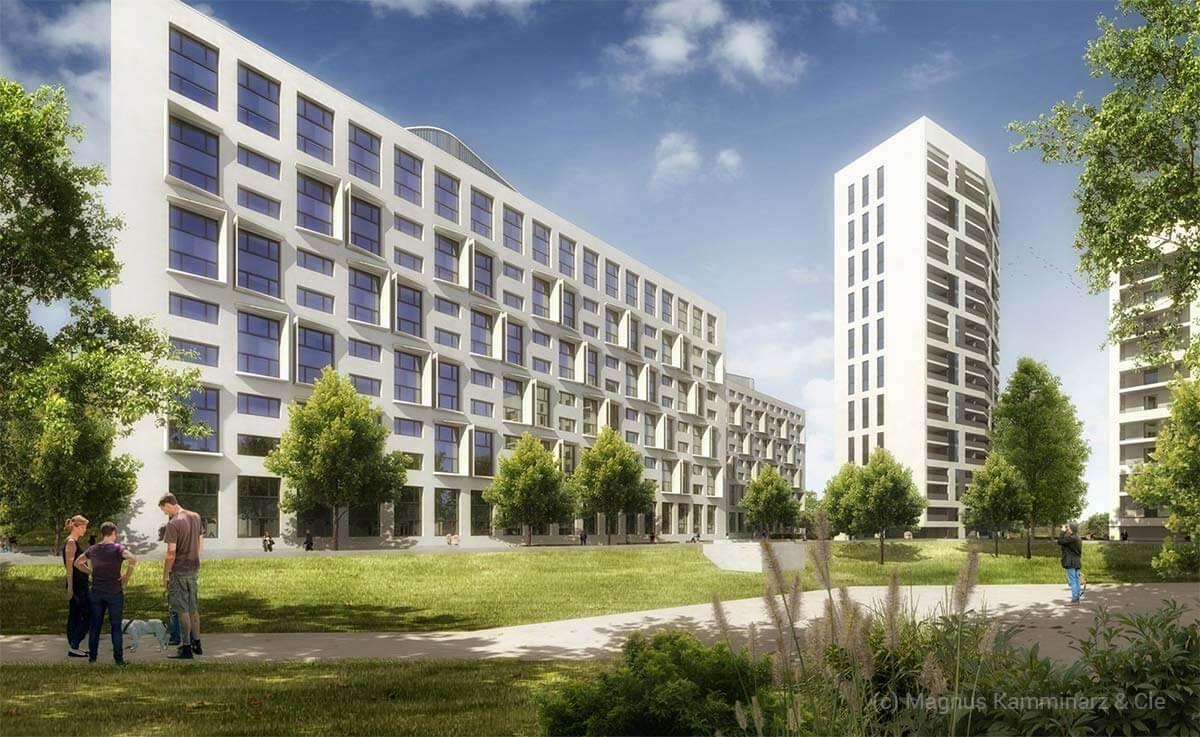 Wohnquartier am Westhafen