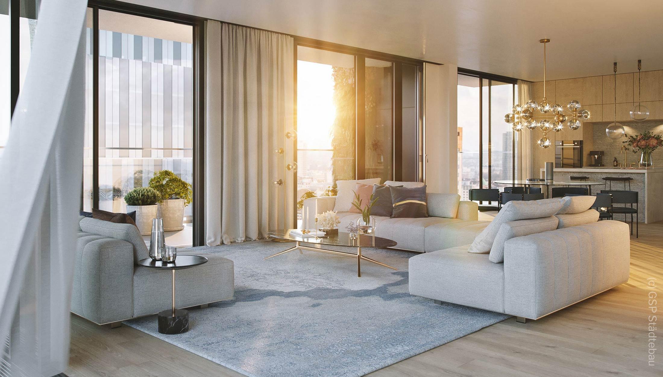 EDEN Frankfurt Wohnung zum Kauf - EDEN Wohnung kaufen - Frankfurt