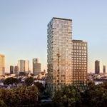 160 Park View in Frankfurt - Parkview Tower - Luxus-Wohnungen und Hotelgebäude - Rendering 2019