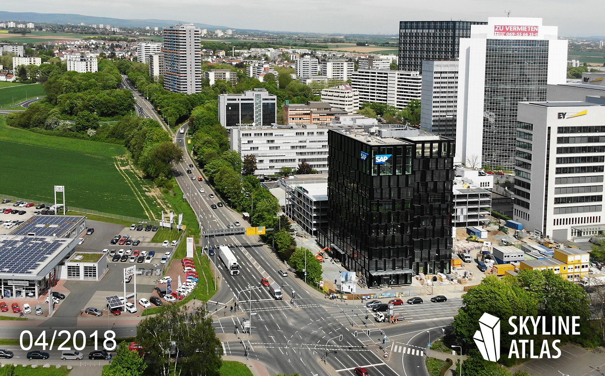 Neubau SAP Rhein-Main in Eschborn - April 2018