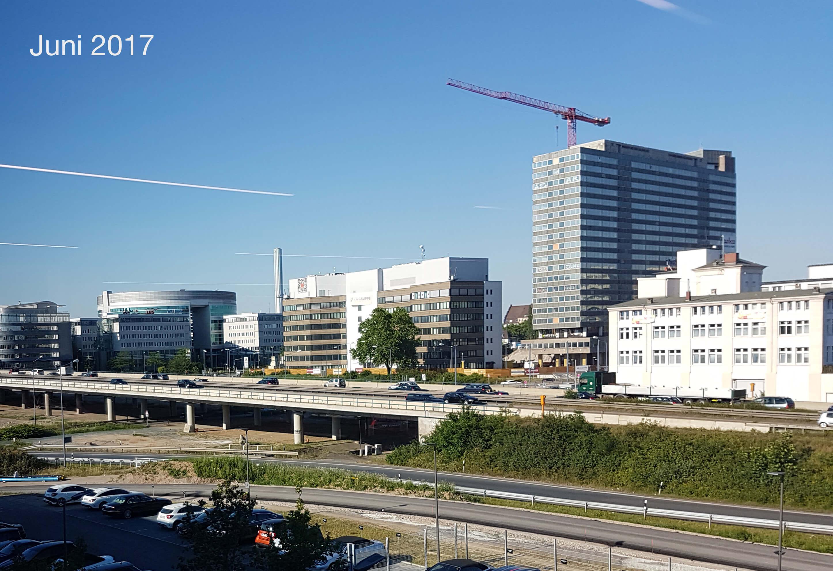 Bauarbeiten an New Frankfurt Towers gestartet