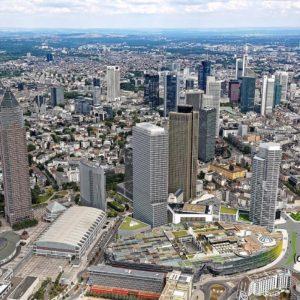 CA Immo baut Tower One Frankfurt - Neues Hochhaus an der Messe