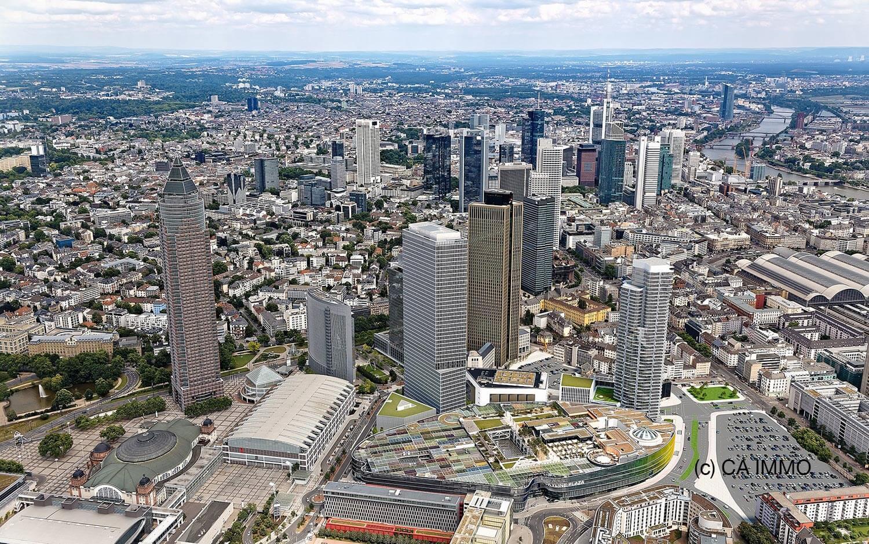 CA Immo baut Tower One Frankfurt – Neues Hochhaus an der Messe