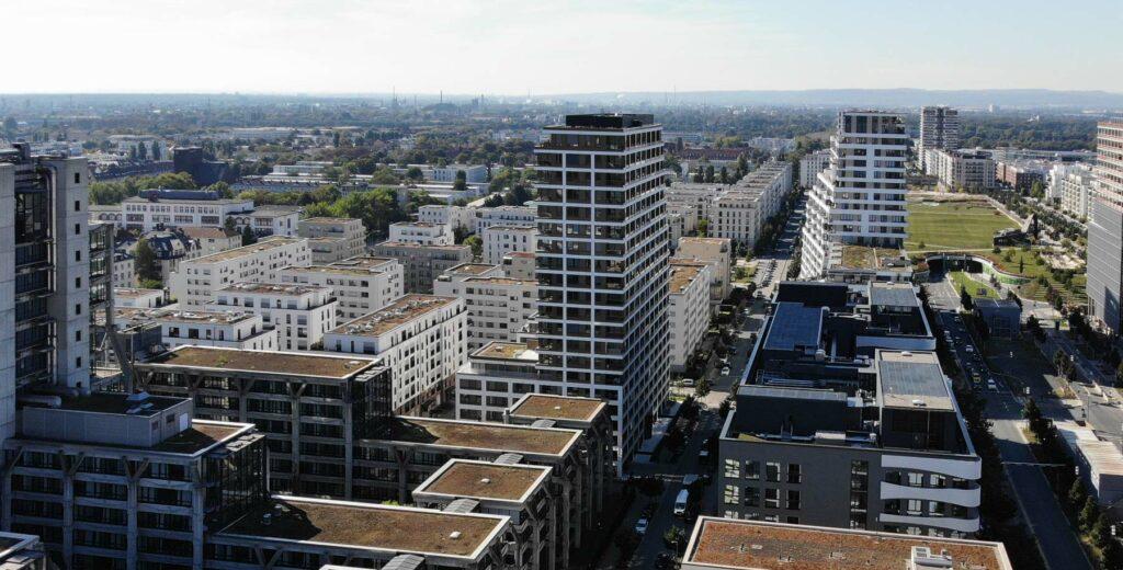 SOLID Home Frankfurt - SolidHome FFM - Eigentumswohnungen Europaviertel - Bauwerk München - September 2021