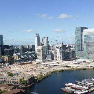 Ein Frankfurter zu Besuch in London, Hochhäuser und der Brexit.