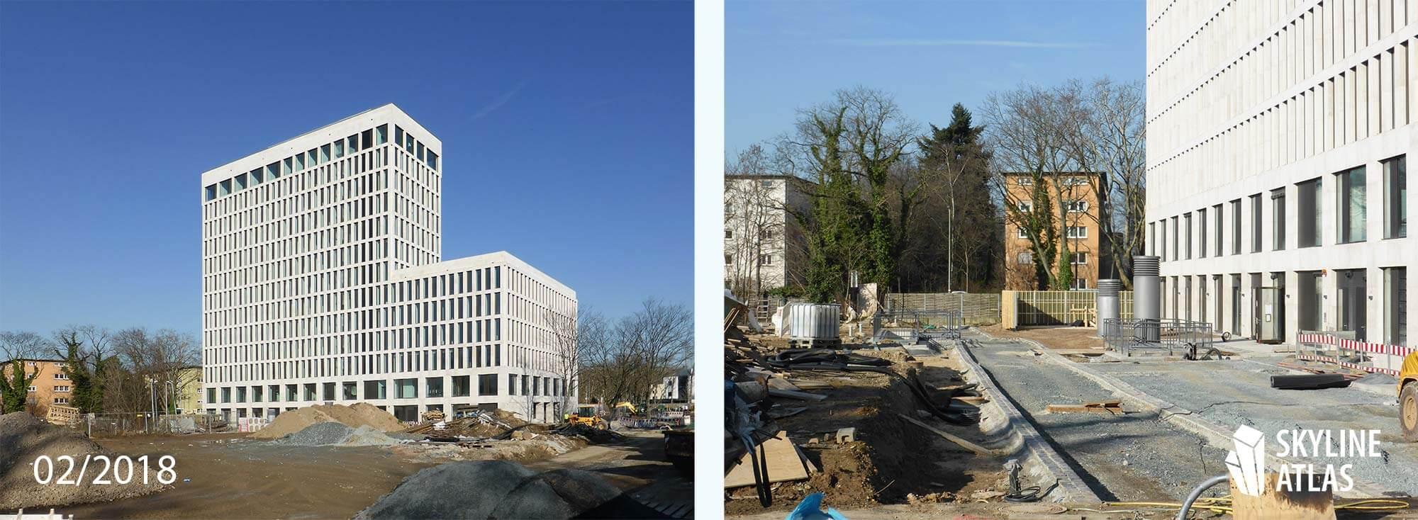 DIPF Hochhaus Universität Frankfurt Februar 2018