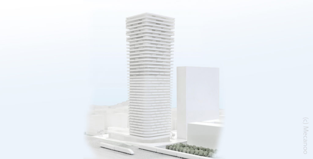 Grand Central Tower Frankfurt - Mecanoo Architecten