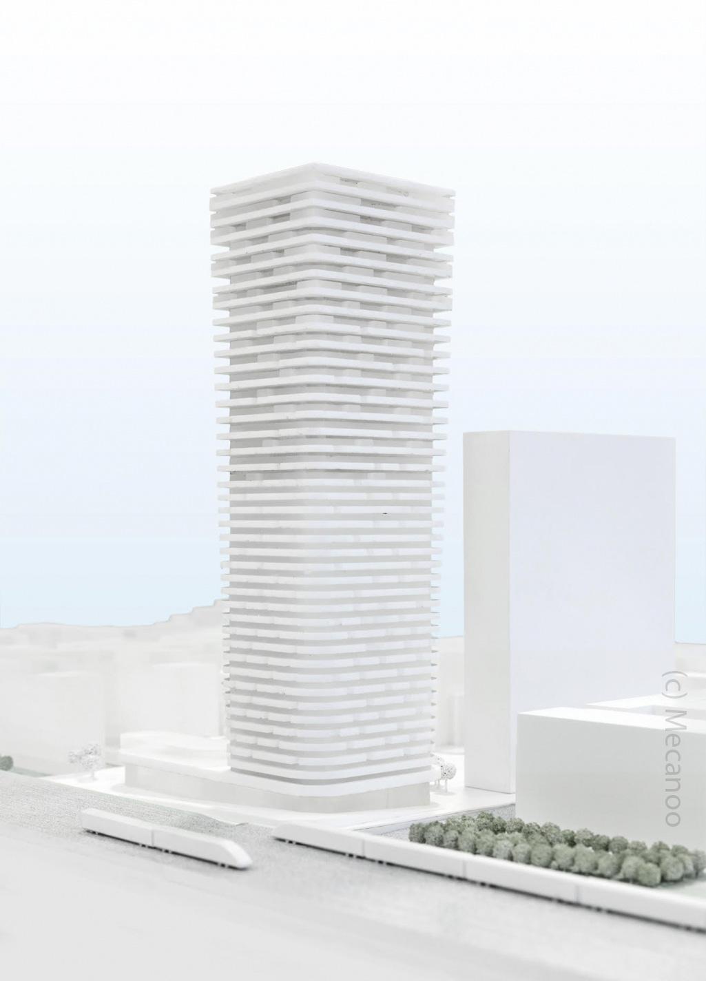Grand Central Tower - Wohnhochhaus am Hauptbahnhof - Groß und Partner - Phoenix Real Estate