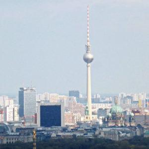 Hochhäuser in Deutschland - Frankfurt im Vergleich