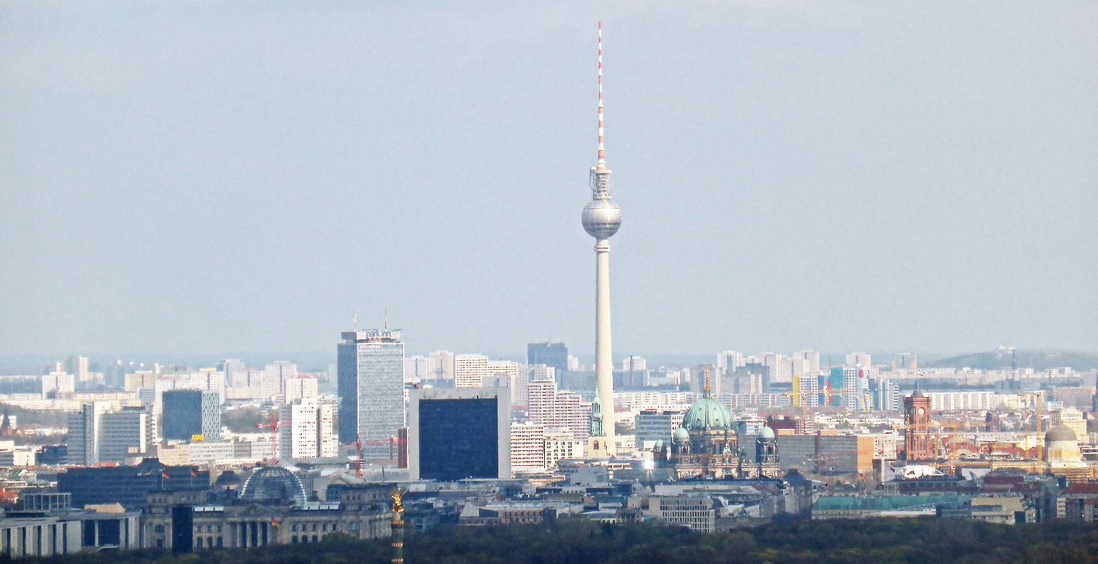 Hochhäuser Skyline Berlin