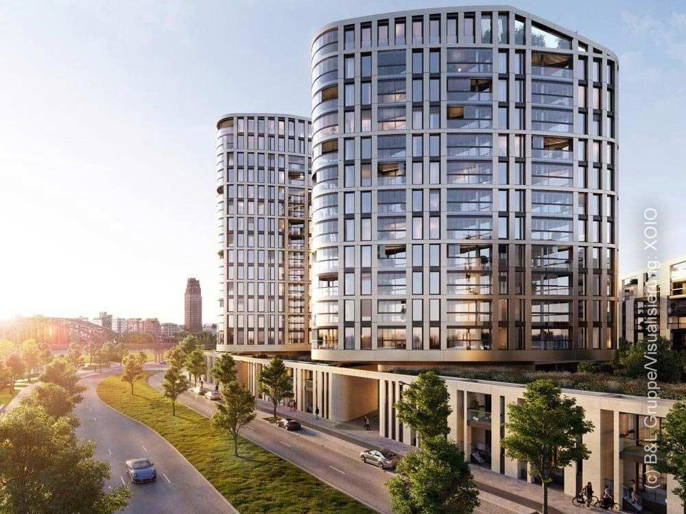 HPQ Living - Eigentumswohnungen Frankfurt - Hafenpark Quartier - Wohnung Ostend kaufen - XOIO