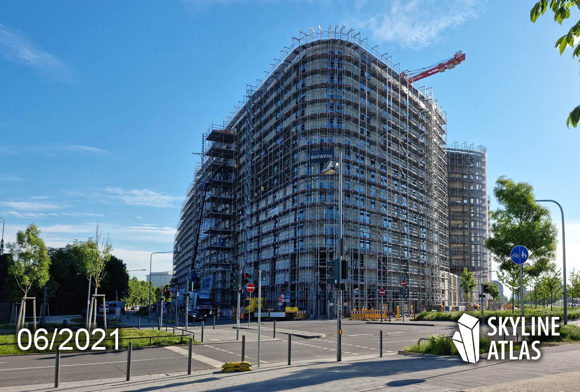 Scandic Frankfurt - HPQ 2 - Hafenpark Quartier FFM - Konferenzhotel Scandic FFM - Frankfurt am Main Ostend - Juni 2021