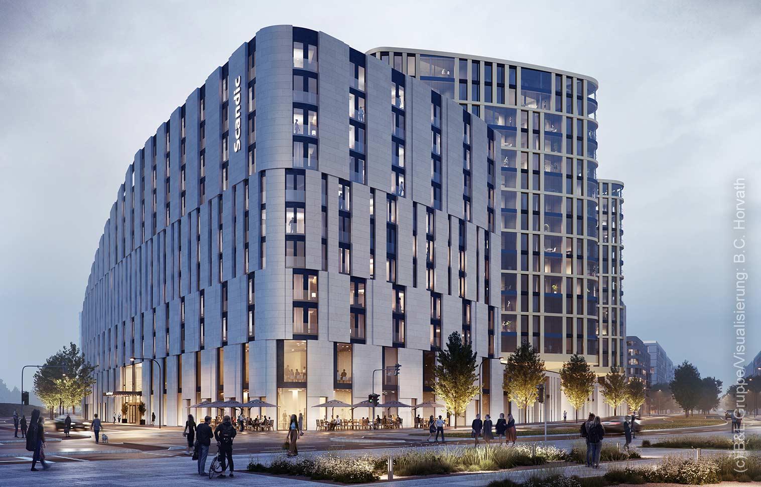Scandic Hotel Frankfurt Ostend - EZB Hotel - Europäische Zentralnank Hotel FFM