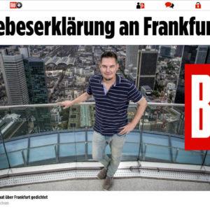 SKYLINE ATLAS in der Bild Zeitung