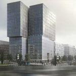 FAZ Hochhaus Europaviertel Frankfurt Paulus - Eike Becker Architekten