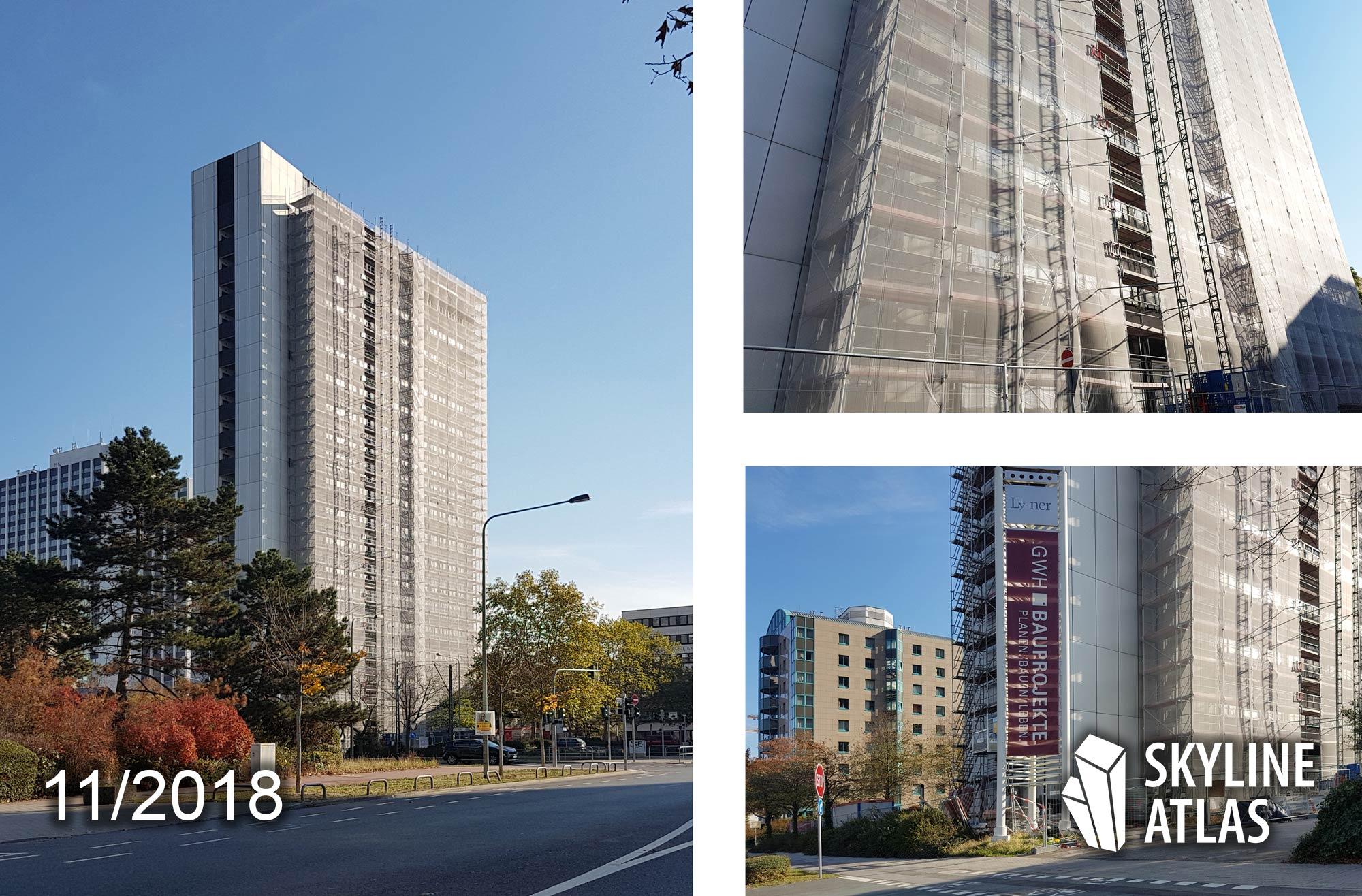 Lyoner Straße 40 - Stephan Forsten Architekten - Neuer Wohnturm in der Bürostadt Niederrad der GWH