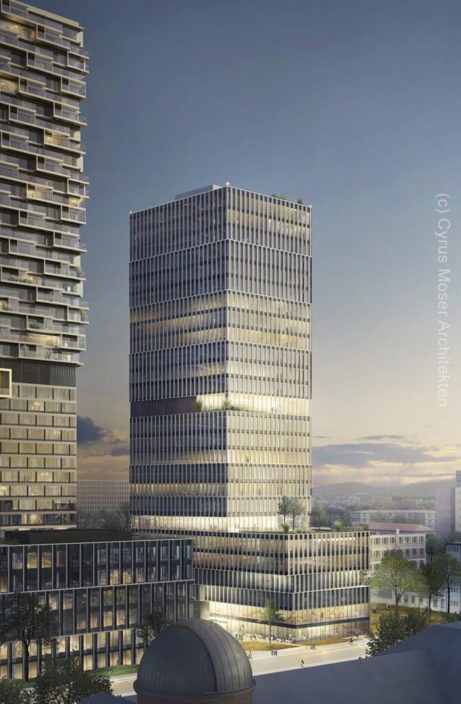 99 West Frankfurt - Visualisierung