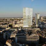 Nextower Frankfurt - Palaisquartier Frankfurt - Hochhaus Next Tower Frankfurt - Jumeirah Hotel Luftbild - Luftaufnahme Nexttower - Drohnenbild Nexttower