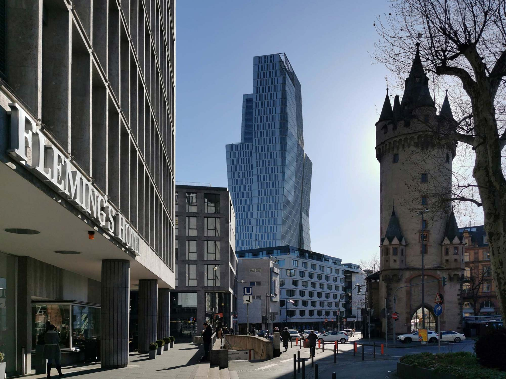 Palaisquartier Frankfurt - Nexttower Hochhaus an der Hauptwache - Palais-Quartier in Frankfurt am Main