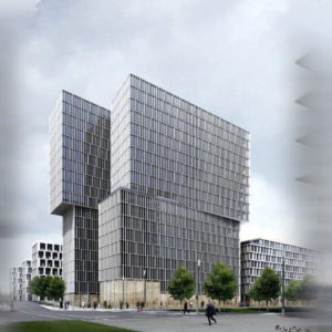 Hochhausprojekt Baufeld 43 in Frankfurt beauftragt