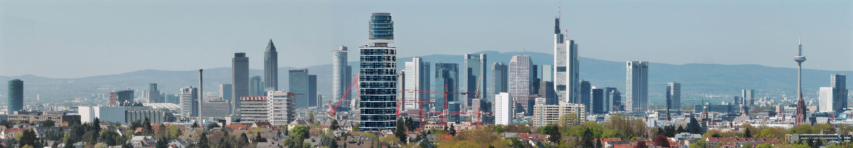 Frankfurt Skyline 2018 - Hochhäuser