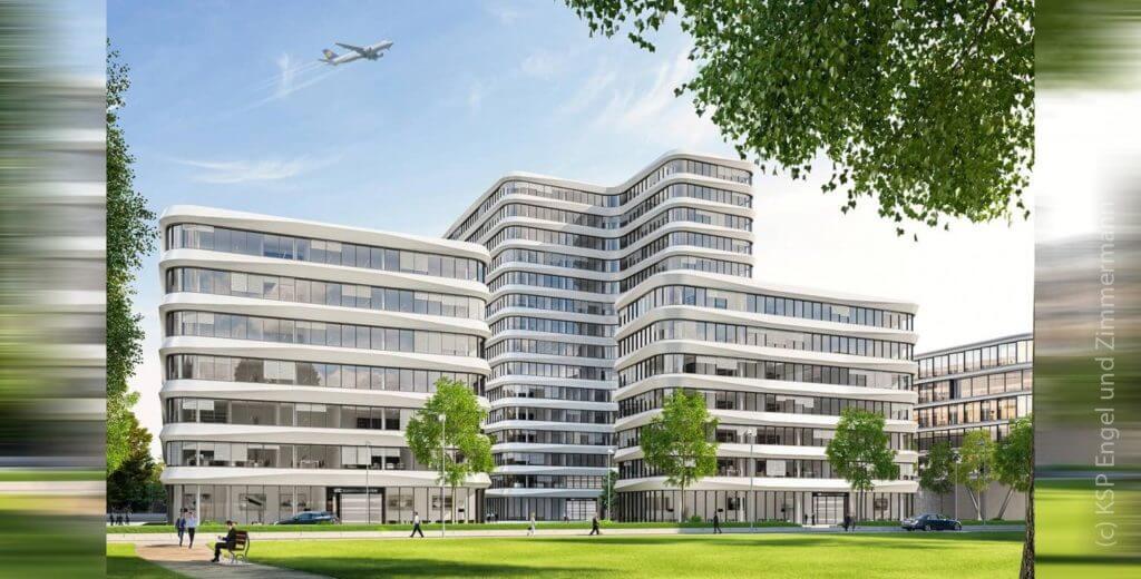 EUROPA-CENTER Frankfurt Gateway Gardens - KSP Architekten