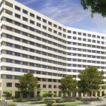 Hochhaus Lyoner Strasse 24-26, Frankfurt am Main - Lyoner Viertel, Hochhaus