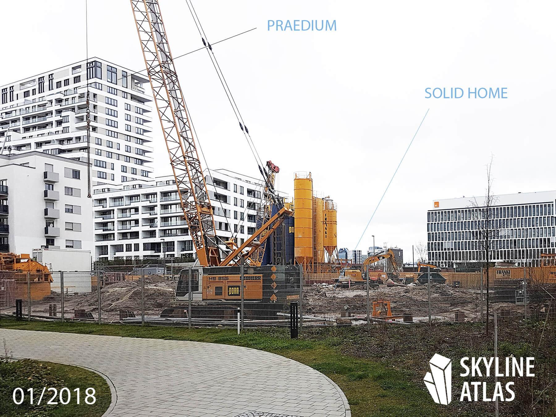 SOLID HOME - Frankfurt - Hochhaus - Europaviertel - Januar 2018