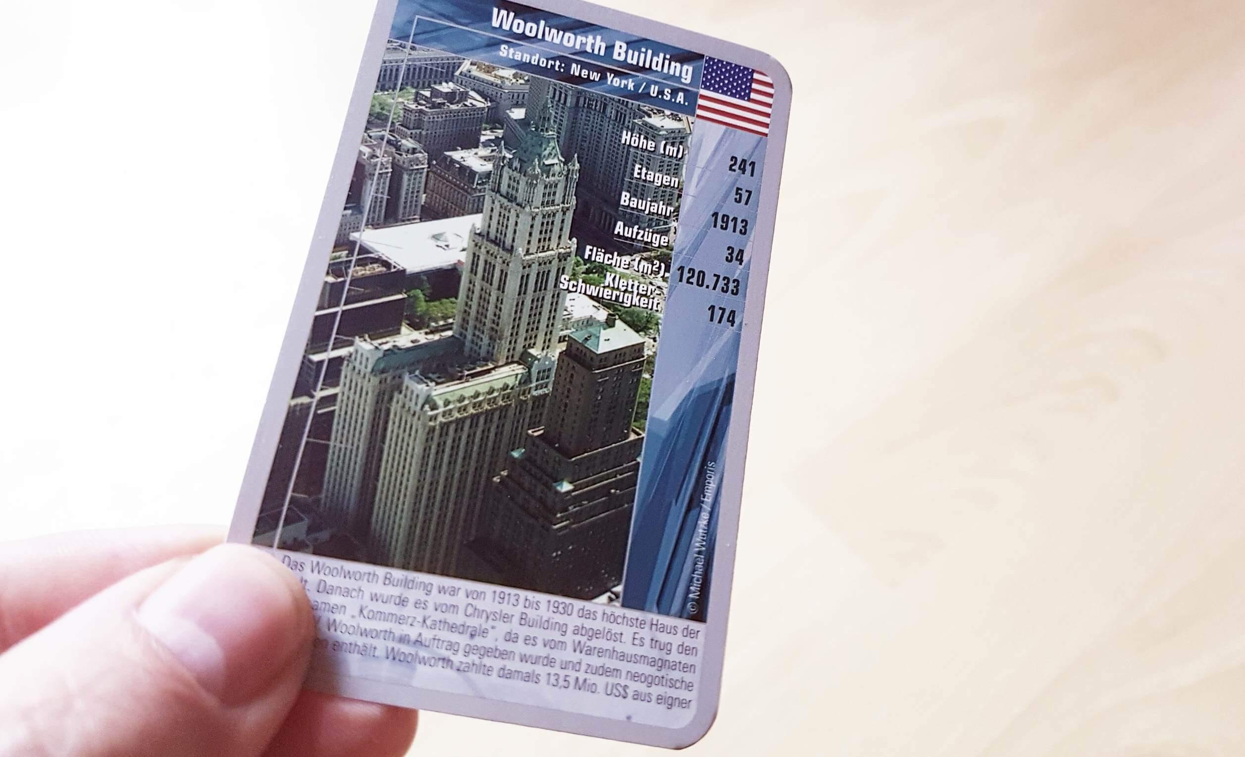 TOP TRUMPS - Kartenspiel - Wolkenkratzer - Hochhäuser - Michael Wutzke