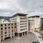 FOUR Frankfurt - Abrißarbeiten 2018