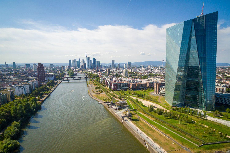 EZB, Europäische Zentralbank, Geld, Hochhaus, Wolkenkratzer, Macht, Frankfurt, Skyline (c) HAUSSMANN VISUALS