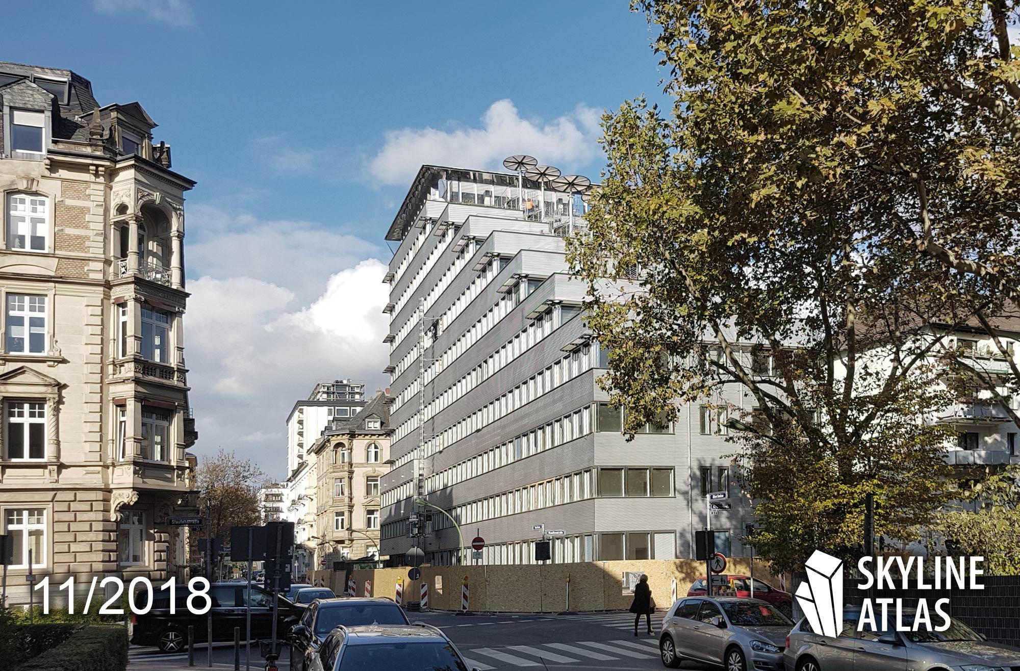 MORROW - Bürogebäude Westend - Büroimmobilie Oberlindau Westend Frankfurt