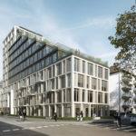 MORROW Frankfurt - Büroimmobilie in Bestlage vom Westend. Geplantes Bürogebäude von meyerschmitzmorkamer.