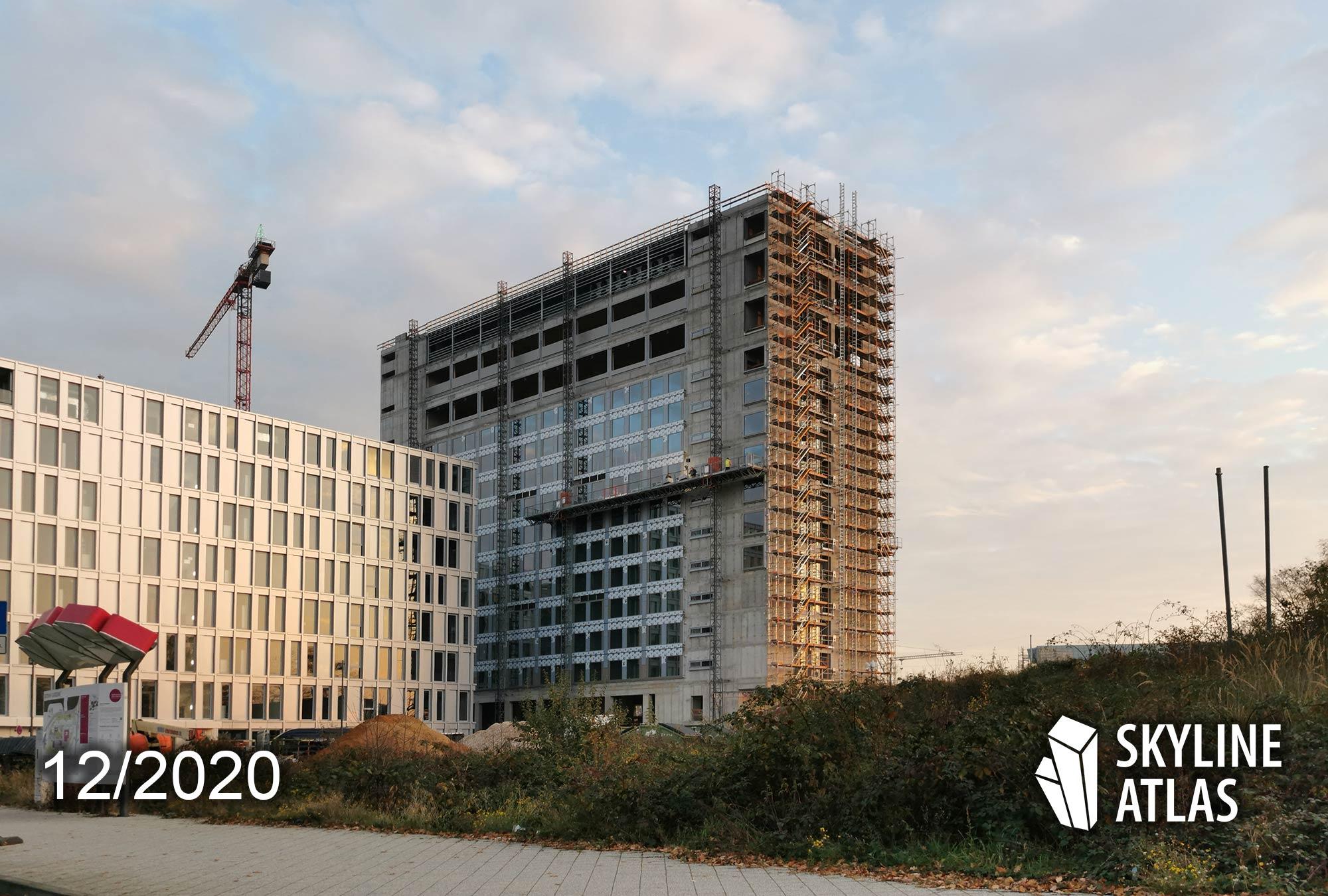 b'mine Hotel - Frankfurt Hotel Flughafen - Airport Hotel Frankfurt - Baustelle Dezember 2020