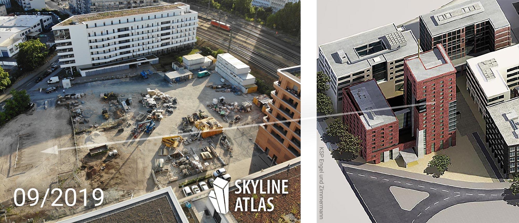 Schwedler Trio Frankfurt - Neubau Wohnimmobilie im Osten von Frankfurt
