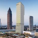 ONE - Hochhaus am Skyline Plaza in Frankfurt neben dem MesseTurm - CA Immo - Rendering