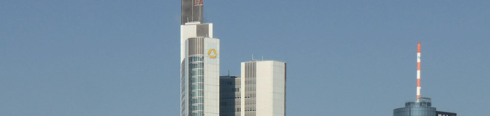 Commerzbank Turm Frankfurt - Commerzbank Tower FFM - Deutschlands höchster Wolkenkratzer - Commerzbank Sitz