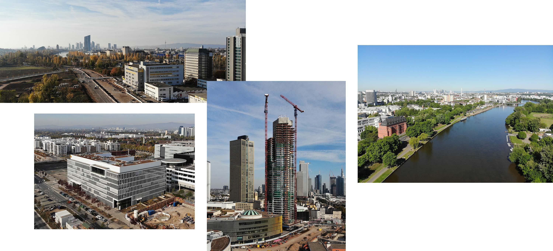 Drohnenbilder Offenbach - Drohnenbilder Frankfurt - Panoramen und Luftaufnahmen mit der Drohne