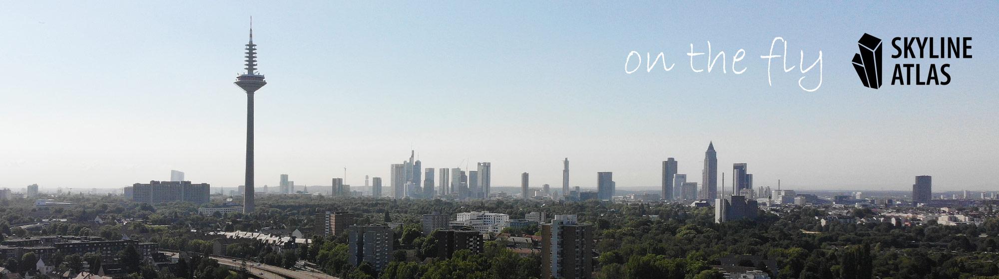 Drohnenaufnahmen in Frankfurt und Rhein-Main-Gebiet