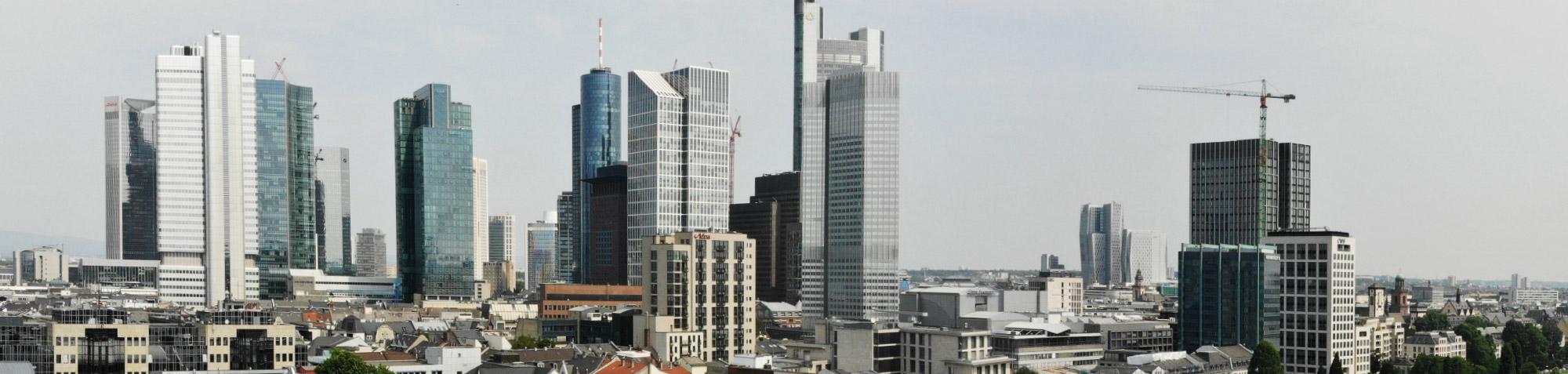 Warum gibt es nur in Frankfurt Wolkenkratzer?