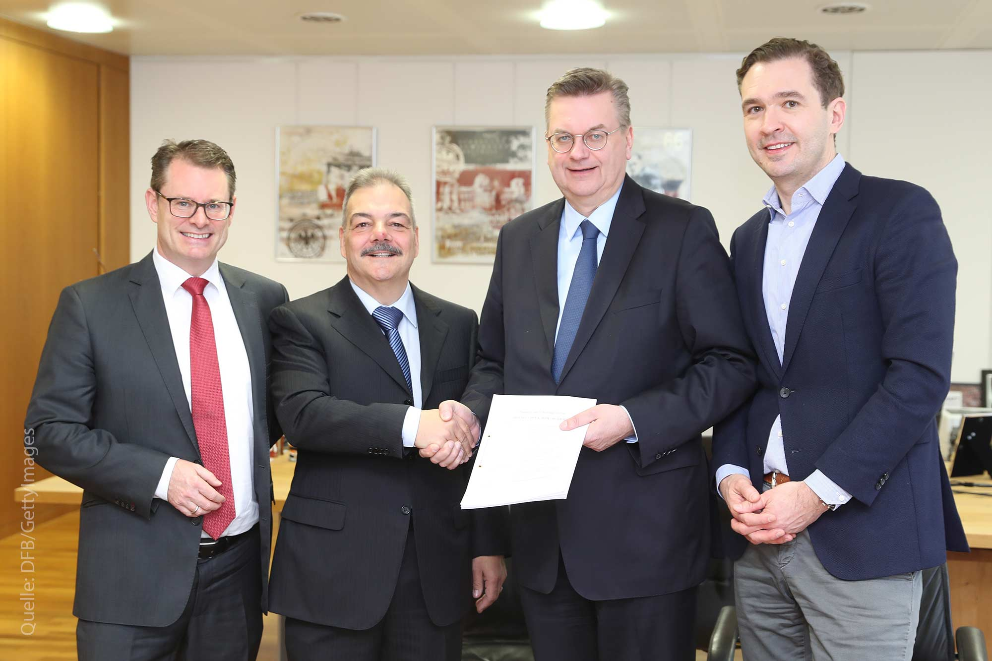 Deutscher Fußballbund wählt Projektentwickler für Neubau aus