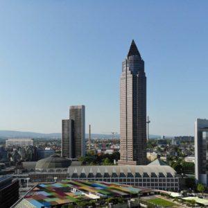 Der MesseTurm wird ab April 2019 umgebaut