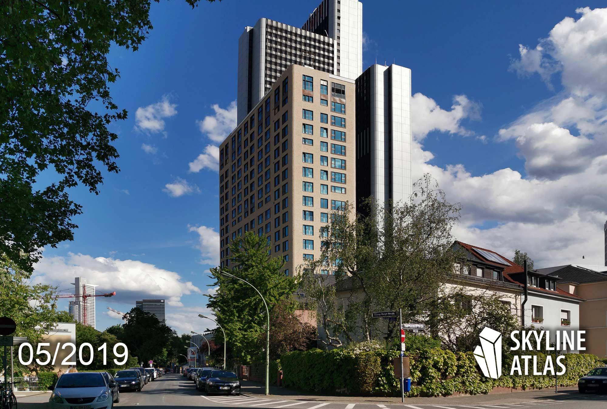 Blue Horizon Frankfurt - Wohnturm - Eigentumswohnungen - Wohnungen - Mai 2019